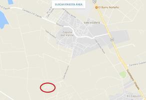 Foto de terreno habitacional en venta en  , el zapote del valle, tlajomulco de zúñiga, jalisco, 10627062 No. 01