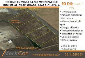 Foto de terreno habitacional en venta en  , el zapote del valle, tlajomulco de zúñiga, jalisco, 0 No. 01