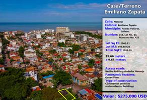 Foto de terreno habitacional en venta en emiliano zapata , emiliano zapata, puerto vallarta, jalisco, 16871099 No. 01