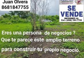 Foto de terreno habitacional en venta en  , emiliano zapata, matamoros, tamaulipas, 0 No. 01