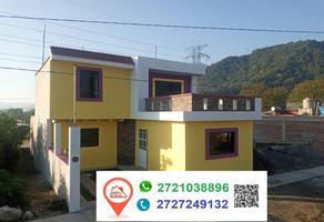 Foto de casa en venta en entre los olivos y cristo , el cristo, ixhuatlancillo, veracruz de ignacio de la llave, 0 No. 01