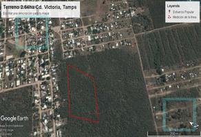 Foto de terreno habitacional en venta en  , esfuerzo popular, victoria, tamaulipas, 0 No. 01