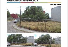Foto de terreno habitacional en venta en espuela , milenio iii fase b sección 10, querétaro, querétaro, 12190197 No. 01