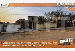 Foto de casa en venta en etiopía 930, solidaridad voluntad y trabajo, tampico, tamaulipas, 0 No. 01