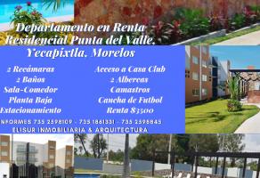 Foto de departamento en renta en Yecapixtla, Yecapixtla, Morelos, 20813327,  no 01