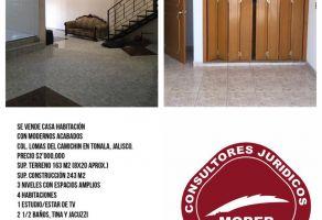 Foto de casa en venta en Lomas de Camichin I, Tonalá, Jalisco, 17436352,  no 01