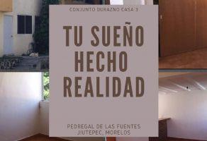 Foto de casa en venta en Pedregal de las Fuentes, Jiutepec, Morelos, 15652747,  no 01