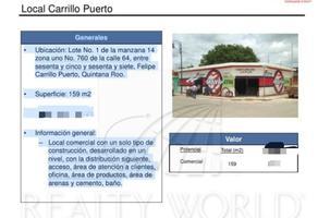 Foto de local en venta en  , felipe carrillo puerto centro, felipe carrillo puerto, quintana roo, 16960526 No. 01