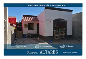 Foto de casa en venta en fernando pesqueira juvera 21, altares, hermosillo, sonora, 0 No. 01