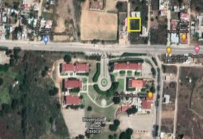 Foto de terreno habitacional en venta en ficus , lomas de santa cruz, santa cruz xoxocotlán, oaxaca, 18899613 No. 01