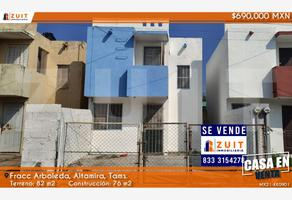 Foto de casa en venta en fraccionamiento arboledas, calle nogal 173, santa amalia, altamira, tamaulipas, 20329653 No. 01