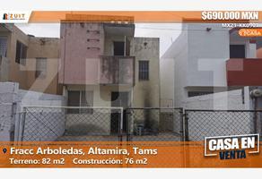 Foto de casa en venta en fraccionamiento arboledas, calle nogal 173, santa anita, altamira, tamaulipas, 0 No. 01