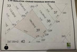 Foto de terreno habitacional en venta en fraccionamiento ciudad maderas la montaña , el marqués, querétaro, querétaro, 0 No. 01