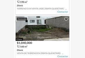 Foto de terreno habitacional en venta en fraccionamiento el risco tesudencial 1, el risco, corregidora, querétaro, 0 No. 01