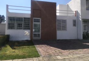 Foto de casa en renta en fraccionamiento la felicidad , san francisco acatepec, san andrés cholula, puebla, 0 No. 01
