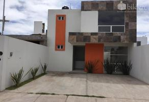 Foto de casa en venta en fraccionamiento las nubes ii nd, las nubes ii, durango, durango, 14963043 No. 01
