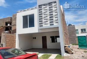Foto de casa en venta en  , fraccionamiento san miguel de casa blanca, durango, durango, 8956232 No. 01