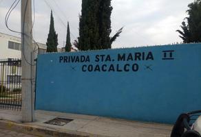 Foto de departamento en venta en francisco cándido c-6, santa maría ii, coacalco de berriozábal, méxico, 14720264 No. 01