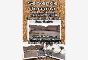 Foto de terreno comercial en venta en francisco i madero 212, victoria de durango centro, durango, durango, 8527499 No. 01
