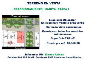 Foto de terreno habitacional en venta en  , francisco i madero, saltillo, coahuila de zaragoza, 0 No. 01