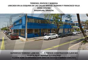 Foto de edificio en venta en centro , centro, mazatlán, sinaloa, 16162116 No. 01