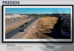 Foto de terreno comercial en venta en francisco villarreal , residencial gardeno, juárez, chihuahua, 18527254 No. 01