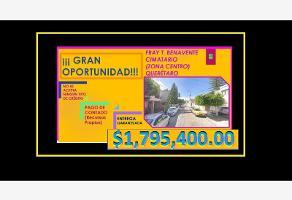 Foto de casa en venta en fray toribio de benavente 2_ ?, cimatario, querétaro, querétaro, 13214943 No. 01