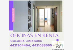 Foto de oficina en renta en fray toribio de benavente numero, cimatario, querétaro, querétaro, 17397551 No. 01