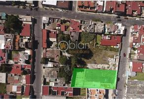 Foto de terreno habitacional en renta en fresnos 5, el cerrito, puebla, puebla, 17431335 No. 01