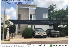 Foto de casa en venta en fuente de la fortuna 36, aqua, benito juárez, quintana roo, 0 No. 01