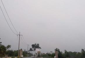 Foto de terreno habitacional en venta en  , galaxia del sol, benito juárez, quintana roo, 7807548 No. 01