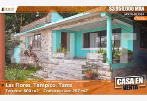Foto de casa en venta en gardenia 106, flores, tampico, tamaulipas, 0 No. 01