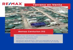 Foto de terreno habitacional en venta en gardenia esquina cipres , las margaritas, altamira, tamaulipas, 17726759 No. 01