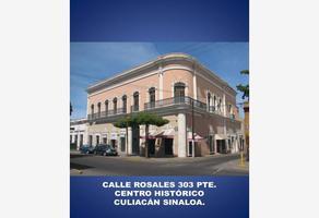 Foto de oficina en venta en general antonio rosales 303 poniente, centro, culiacán, sinaloa, 5546352 No. 01
