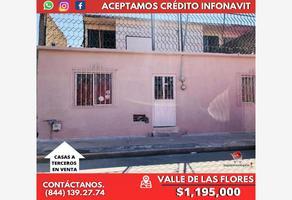 Foto de casa en venta en girasol 208, valle de las flores infonavit, saltillo, coahuila de zaragoza, 0 No. 01