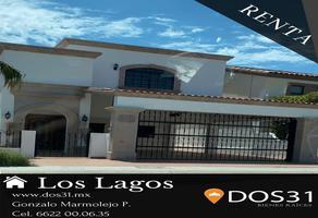Foto de casa en renta en golondrina , los lagos, hermosillo, sonora, 16110595 No. 01