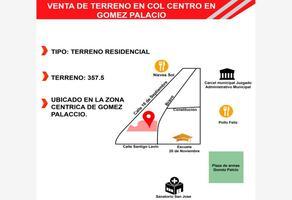 Foto de terreno comercial en venta en  , gómez palacio centro, gómez palacio, durango, 11450548 No. 01
