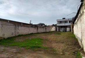 Foto de terreno habitacional en venta en gomez pedraza 1, centro, toluca, méxico, 15177713 No. 01