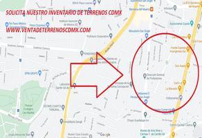 Foto de terreno habitacional en venta en guadalupe inn 34, guadalupe inn, álvaro obregón, df / cdmx, 0 No. 01
