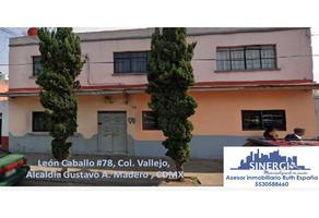 Foto de casa en venta en  , guadalupe insurgentes, gustavo a. madero, df / cdmx, 16850298 No. 01