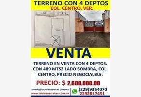 Foto de terreno comercial en venta en guadaplupe victoria 1, veracruz centro, veracruz, veracruz de ignacio de la llave, 16445432 No. 01
