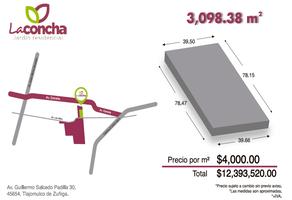 Foto de terreno comercial en venta en guillermo salcedo padilla , la concha, tlajomulco de zúñiga, jalisco, 14743743 No. 01