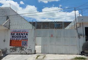 Foto de bodega en renta en gustavo diaz ordaz 2, ex-hacienda concepción morillotla, san andrés cholula, puebla, 21388526 No. 01