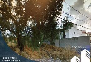 Foto de terreno habitacional en venta en hacienda montenegro , villas del mesón, querétaro, querétaro, 13987812 No. 01