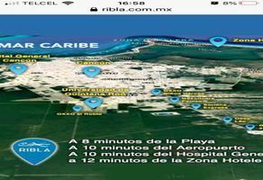 Foto de terreno habitacional en venta en  , hacienda real del caribe, benito juárez, quintana roo, 17525528 No. 01