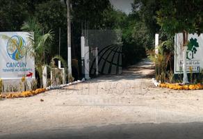 Foto de terreno habitacional en venta en  , hacienda real del caribe, benito juárez, quintana roo, 0 No. 01
