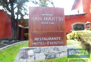 Foto de terreno habitacional en venta en hacienda san martin , centro ocoyoacac, ocoyoacac, méxico, 6537474 No. 01