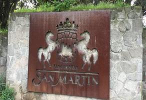 Foto de terreno habitacional en venta en hacienda san martin , ex-hacienda jajalpa, ocoyoacac, méxico, 14580963 No. 01