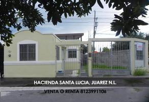 Foto de casa en venta en hacienda san salvador 227, hacienda santa lucia, juárez, nuevo león, 0 No. 01