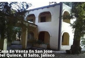 Foto de casa en venta en heliodoro hernandez , el quince centro, el salto, jalisco, 0 No. 01